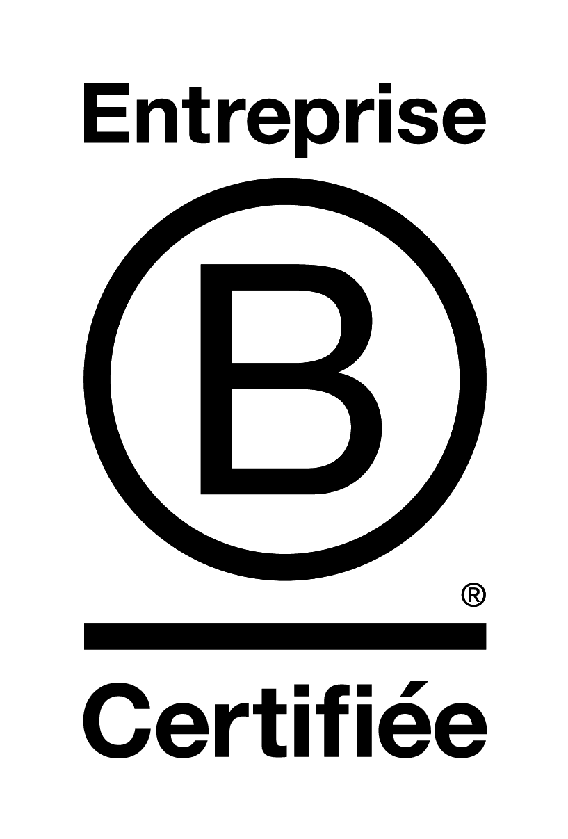 Logo of the B-Corp certificate obtained by LITA